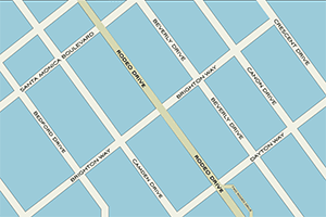 Rodeo Drive Map.
